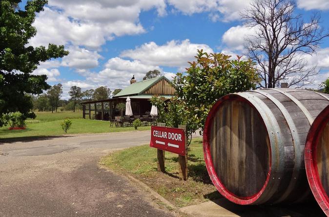 Excursão de pequenos grupos para Vinharia Hunter Valley e degustação de queijo saindo de Sydney