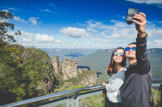 Excursão de um dia para grupo pequeno às Blue Mountains a partir de Sydney, com cruzeiro fluvial