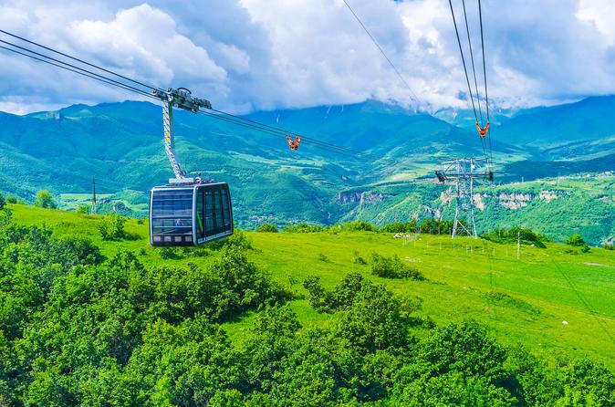 Day Trip: Tatev Ropeway, Monastery,Karahunge, Shaki waterfall,Areni Winery,lunch