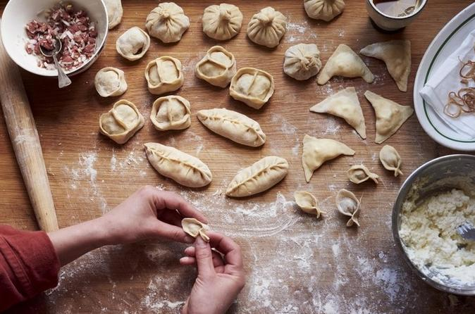 Hands-on Dumpling and Noodle Cooking Class