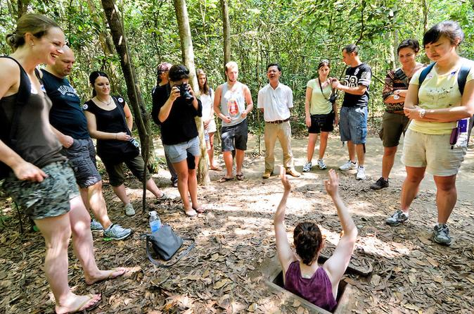 Top Group Cu Chi tunnels tour halfday