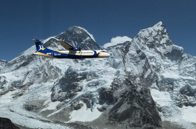 Flight over the himalayas including mt everest from kathmandu in kathmandu 170236