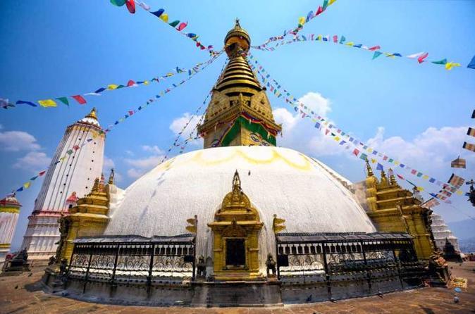 Full Day Private Sightseeing Kathmandu tour with visit to Swayambhunath Stupa and Budhanilkantha