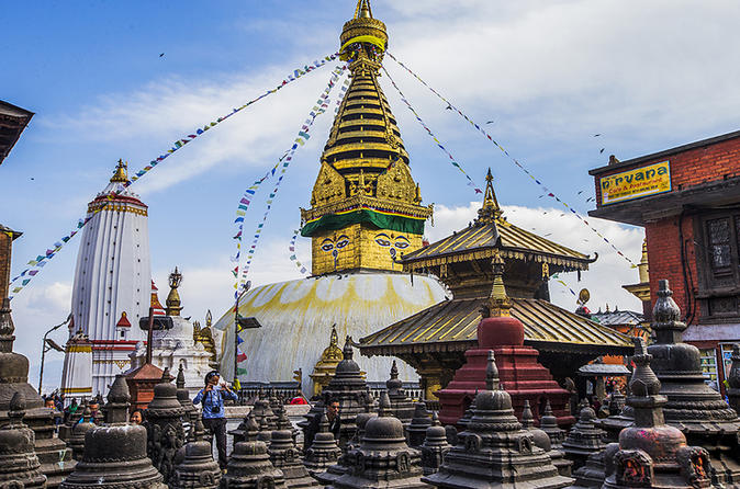 Full day Private Sightseeing Tour of Kathmandu including visit to Swayambunath and Bhaktapur