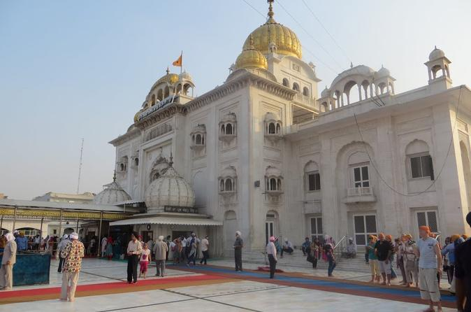 Half-Day Connaught Place Tour Including Hanuman Temple, Bangla Sahib and India Gate