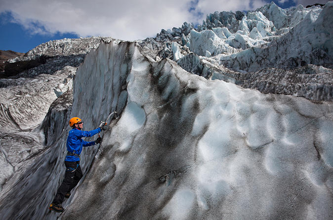 7 hour glacier hike and ice climbing experience in skaftafell in skaftafell 221162