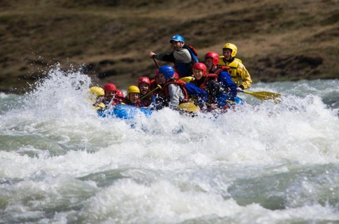 Day Trip from Reykjavik along Iceland's Golden Circle including Thingvellir National Park and River Rafting