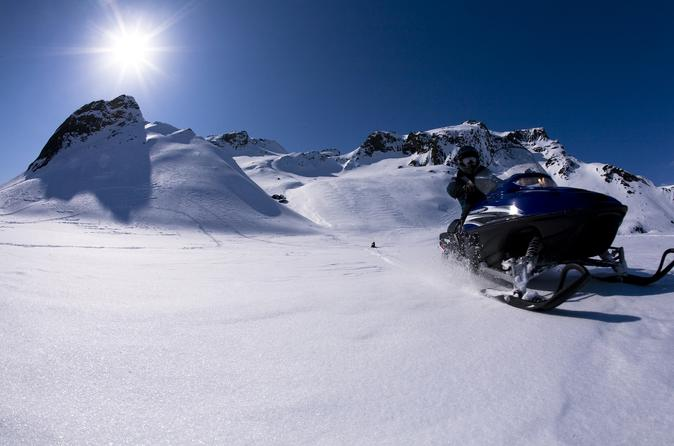 Golden Circle Tour by Super Jeep Including Glacier Snowmobiling