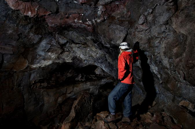 Lava Caving and Golden Circle Tour from Reykjavik