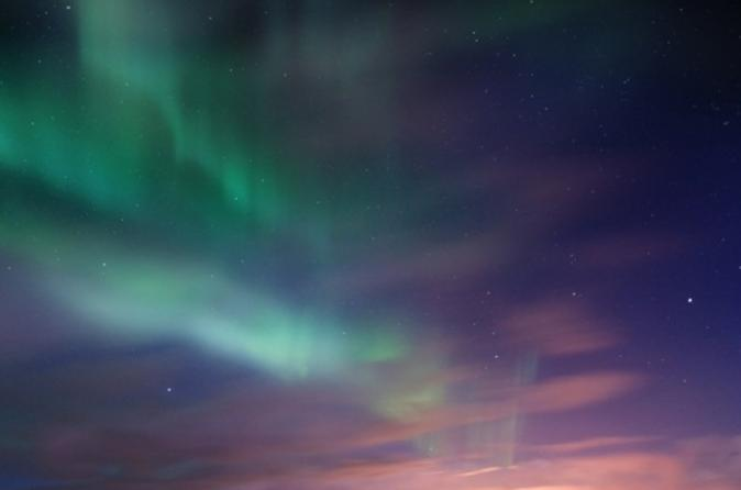 Northern Lights Tour from Reykjavik: Lobster Dinner, Lava Caves and Eyrarbakki