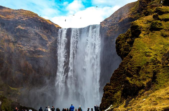 South iceland waterfalls and glacier hiking small group adventure in reykjavik 635632
