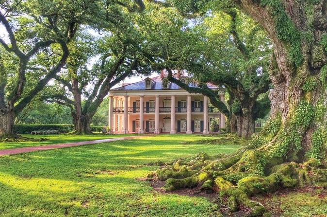 Traveler's Choice: Oak Alley, Laura, or Whitney Plantation Tour from New Orleans