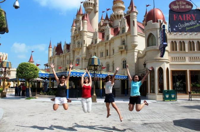 5-Day Singapore City Pass com entrada para Universal Studios