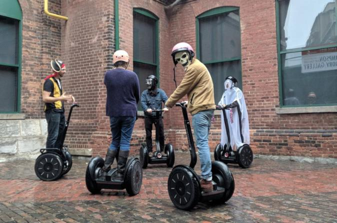 The World's Least Scary Ghost Tour by Segway