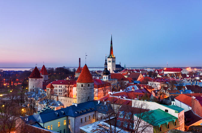 Tallinn Shore Excursion: Tallinn Sightseeing Tour by Coach and Foot
