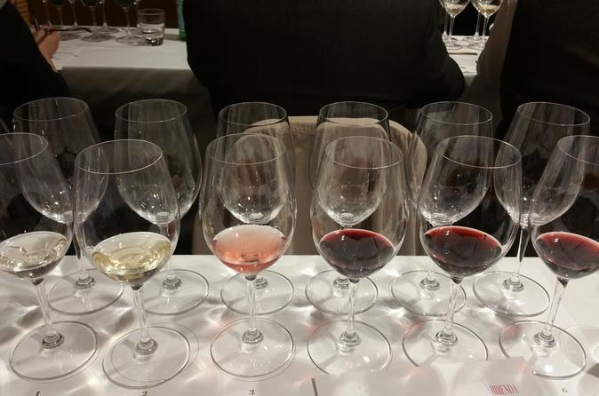 Wine Tasting and Food Pairing Class in Rome Led by a Sommelier