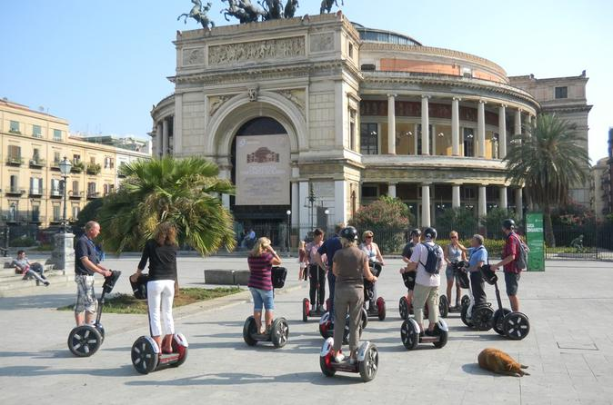 Excursão de Segway em Palermo