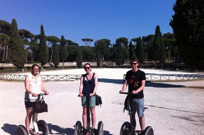 Rome Segway Tour: Villa Borghese