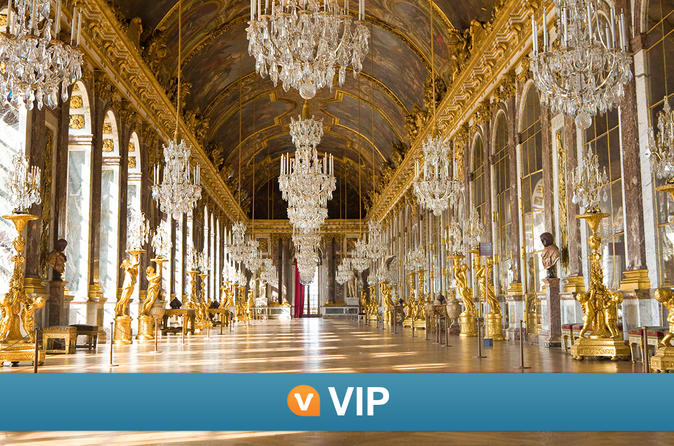 Viator VIP: Palace of Versailles Small-Group Tour with Private Viewing of the Royal Quarters