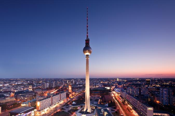 Berlin Skip the Line: Dinner Atop the Berlin TV Tower  Germany, Europe