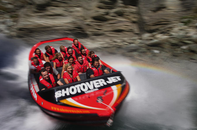 Shotover river extreme jet boat ride from queenstown in queenstown 115299