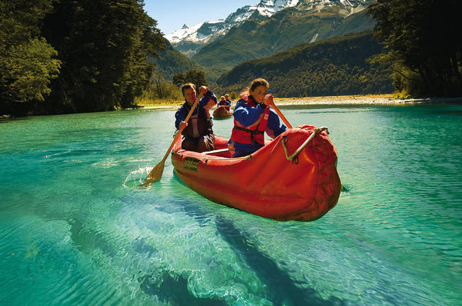 Dart River 'Funyak' Canoe and Jet Boat Tour from Queenstown