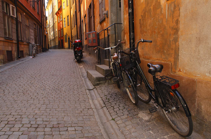 Private Tour: Stockholm Bike Tour Including Kungsholmen, Långholmen and Södermalm Islands