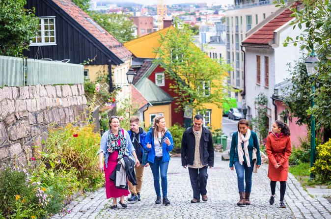 bergen self guided walking tour