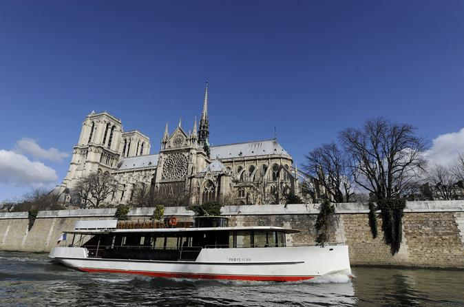 Seine River Cruise: Sightseeing with Optional Aperitif or Snack
