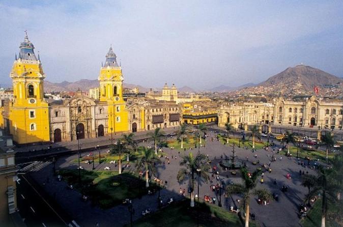 City tour privado por Lima, saindo do terminal de cruzeiros Callao