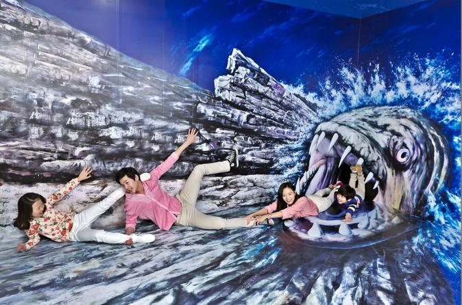 Trickeye Museum And Ice Museum at Hongdae Hongik Univ