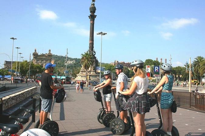 Excursão terrestre por Barcelona: Excursão de Segway em Barcelona