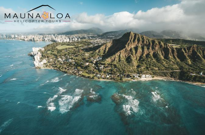 The Oahu Experience : 60 Minute Helicopter Tour