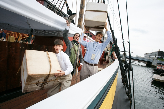 Entrada para o Boston Tea Party Ships and Museum