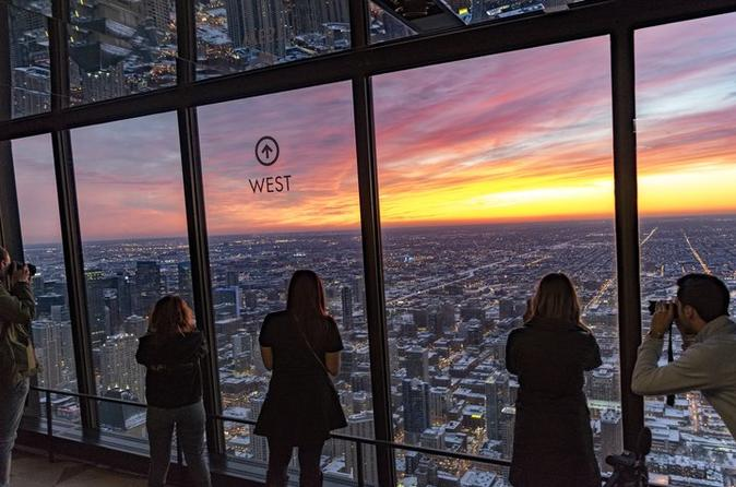 360 Chicago Observation Deck (formerly John Hancock Observatory) Sun and Stars Admission