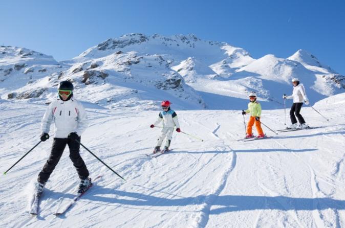 5 dias de excursão de esqui no Chile, com 3 dias de tíquetes para teleférico em La Parva, El Colorado e Valle Nevado
