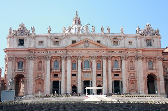 Rome Super Saver: Skip-the-Line St. Peter's Basilica Walking Tour and Audio-Guided Cupola
