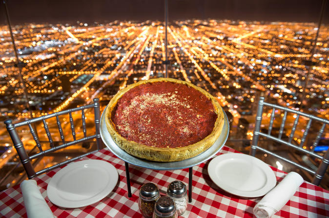 Willis Tower Skydeck Dinner
