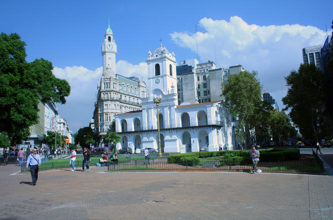 Buenos Aires Combo Tour: City Sightseeing Plus Madero Tango Show with Dinner