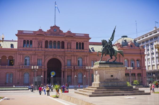 Buenos Aires super econômica: Acesso aos bastidores de estádios de futebol mais Excursão a pé pela cidade