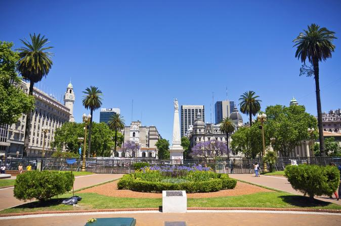 Buenos Aires Super Saver: City Sightseeing Tour plus Wine Tasting in Palermo Soho