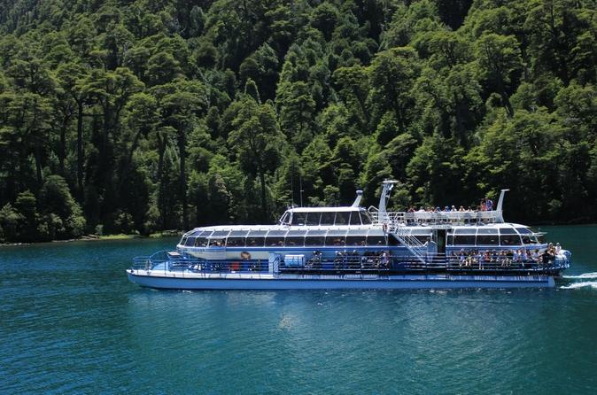 Caminhada até as cachoeiras e cruzeiro turístico por Puerto Blest saindo de Bariloche