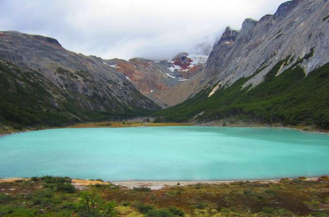 Caminhada para a Lagoa esmeralda saindo de Ushuaia
