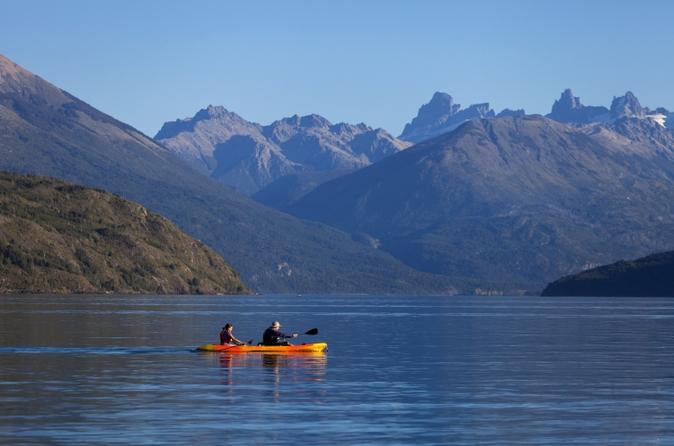 Excursão de caiaque no Lago Moreno ou no Lago Gutiérrez saindo de Bariloche