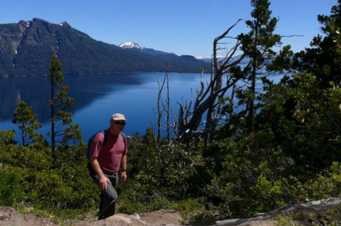 Excursão de caminhada por Llao Llao com transporte saindo de Bariloche