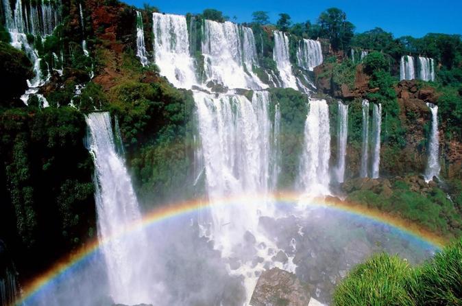 Excursão de meio dia para o lado brasileiro das Cataratas do Iguaçu com excursão pela Hidrelétrica de Itaipu opcional, saindo de Puerto Iguazú
