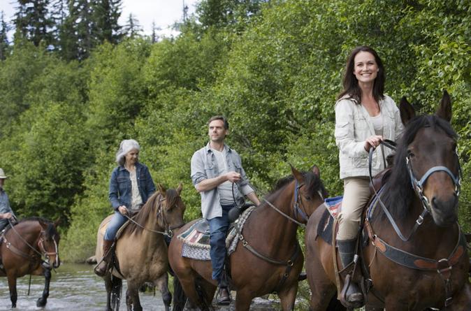 Excursão de Passe a Cavalo em Bariloche com o Tradicional Assado Argentino