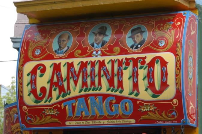 Excursão histórica pela cidade de Buenos Aires: show de tango e futebol