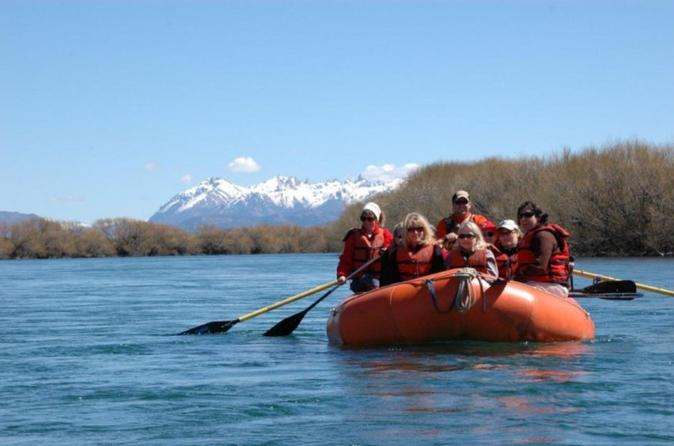 Half-Day Rafting Limay River from Bariloche