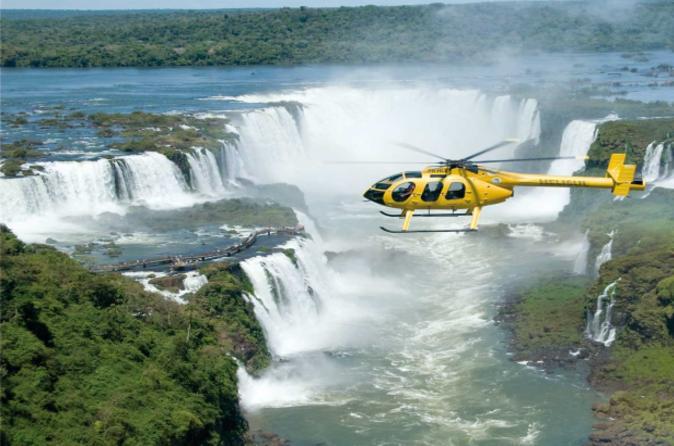 Iguassu falls panoramic helicopter flight in puerto iguazu 166131